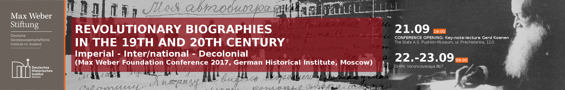 Revolutionary Biographies in the 19th and 20th Century